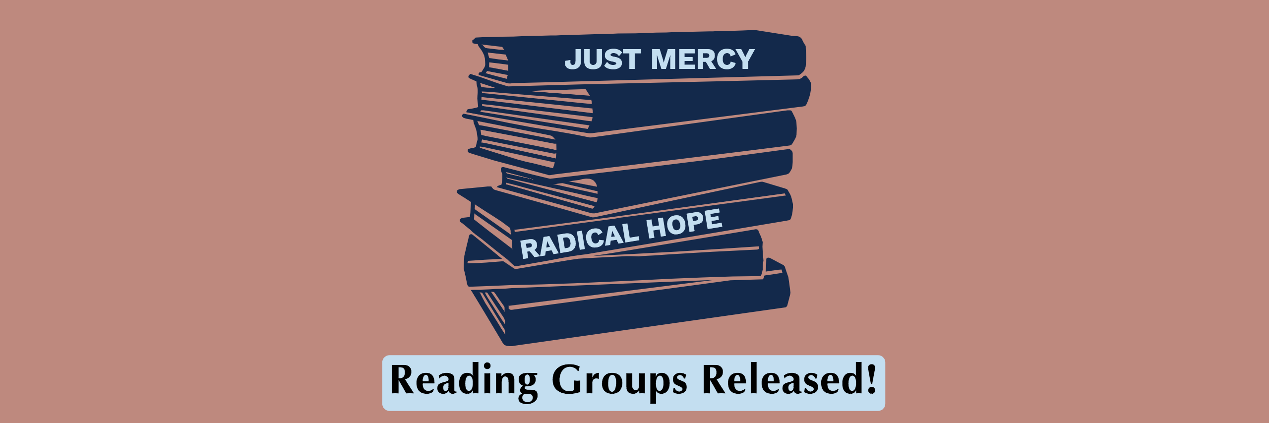 Reading group promotional image.