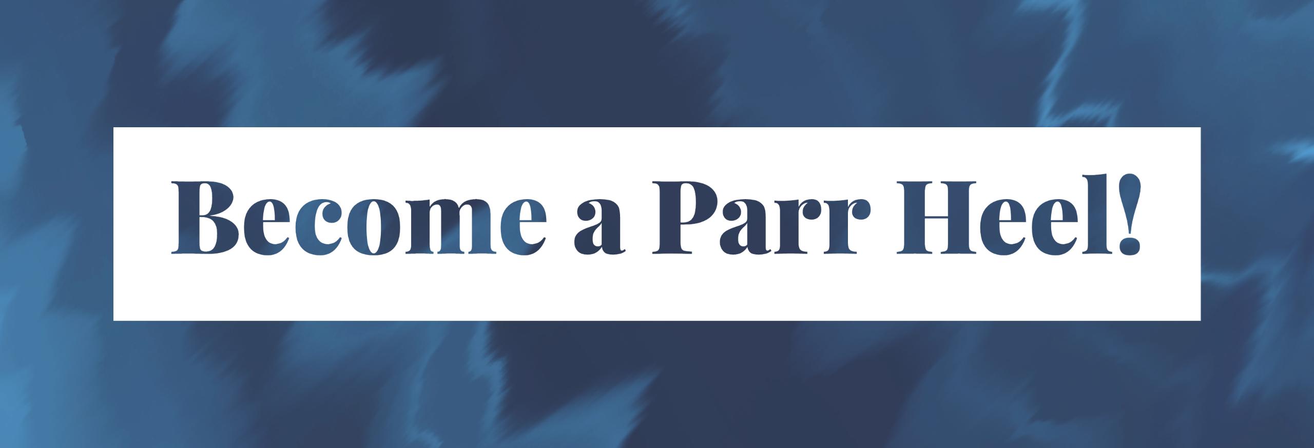 Parr Heel Website Banner